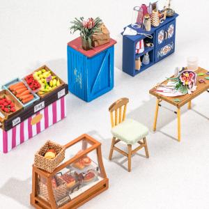 Puzzle 3D Carl's Fruis Shop [4]