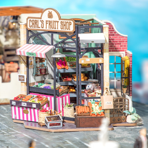 Puzzle 3D Carl's Fruis Shop [7]