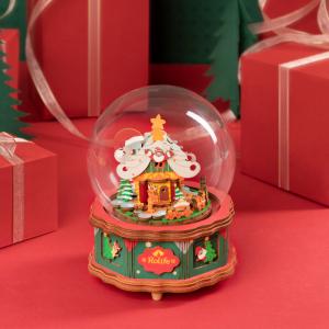 Puzzle 3D Christmas Town [5]