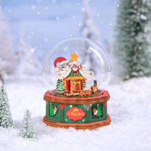 Puzzle 3D Christmas Town [1]