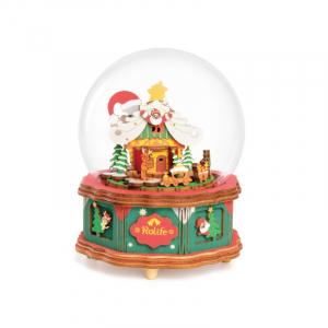 Puzzle 3D Christmas Town [0]