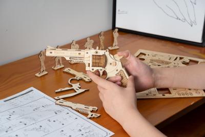 Puzzle 3D Corsac M60 [6]