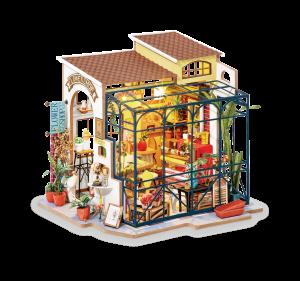 Puzzle 3D Emily's Flowers Shop [0]