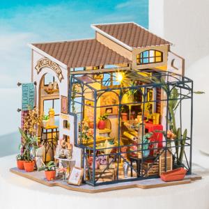 Puzzle 3D Emily's Flowers Shop [7]