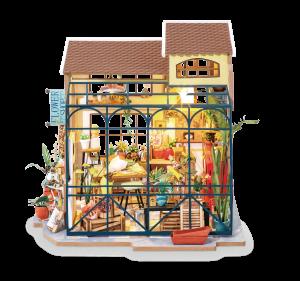 Puzzle 3D Emily's Flowers Shop [2]