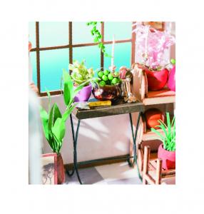 Puzzle 3D Emily's Flowers Shop [6]
