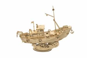 Puzzle 3D Fishing Ship [0]