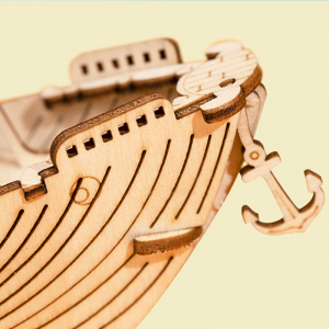Puzzle 3D Fishing Ship [3]