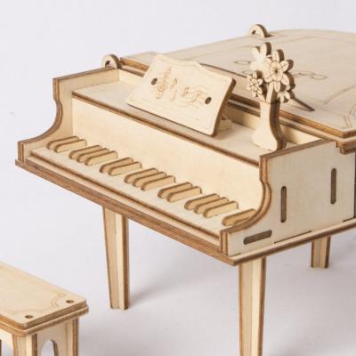 Puzzle 3D Grand Piano [3]