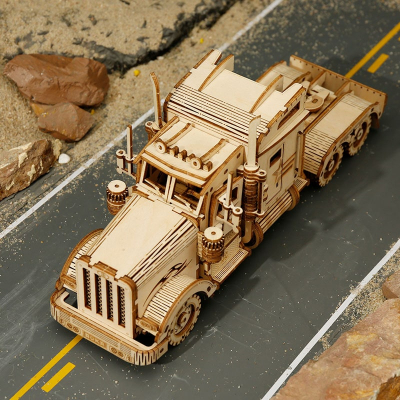 Puzzle 3D Heavy Truck [3]