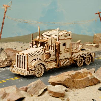 Puzzle 3D Heavy Truck [4]