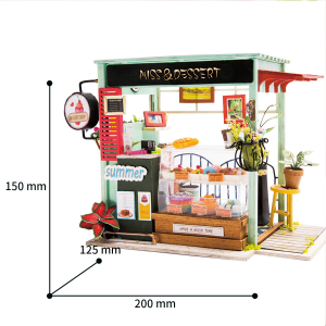 Puzzle 3D Ice Cream Station [1]