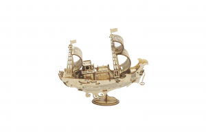 Puzzle 3D Japanese Diplomatic Ship [0]