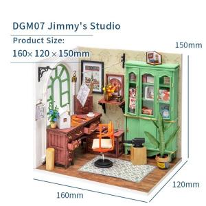 Puzzle 3D Jimmy's Studio [2]