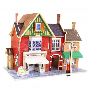 Puzzle 3D Tailor's Shop [0]