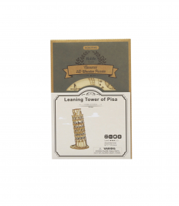 Puzzle 3D Leaning Tower of Pisa [5]