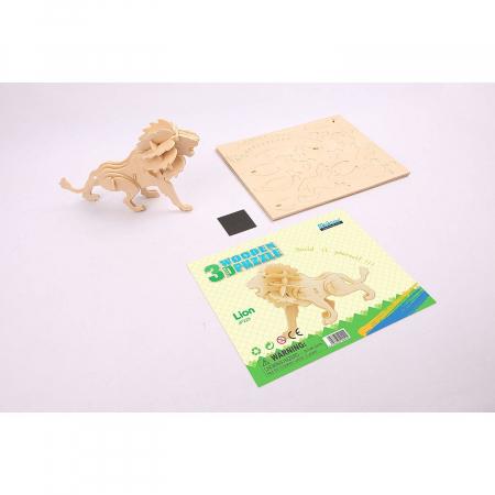 Puzzle 3D Lion [1]