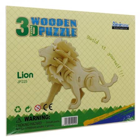 Puzzle 3D Lion [2]