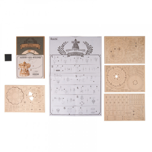 Puzzle 3D Merry-Go-Round [2]
