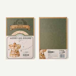 Puzzle 3D Merry-Go-Round [3]