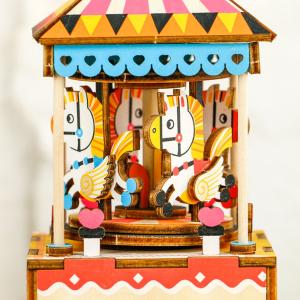 Puzzle 3D Merry Go Round [5]