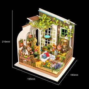Puzzle 3D Miller's Garden [2]