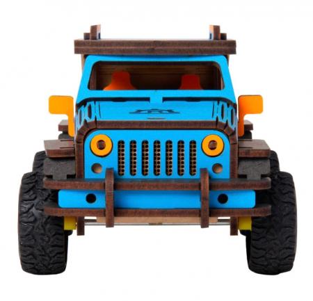 Puzzle 3D Off-Road Jeep [4]