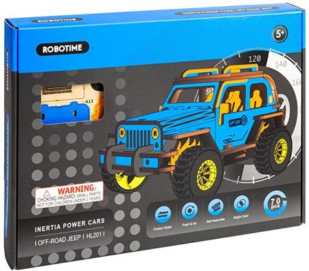 Puzzle 3D Off-Road Jeep [2]