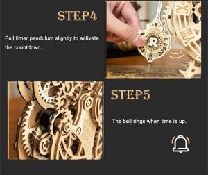 Puzzle 3D Owl Clock [7]