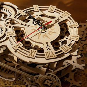 Puzzle 3D Owl Clock [5]
