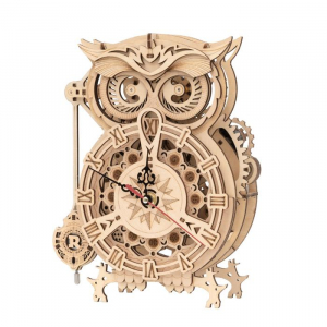 Puzzle 3D Owl Clock [0]