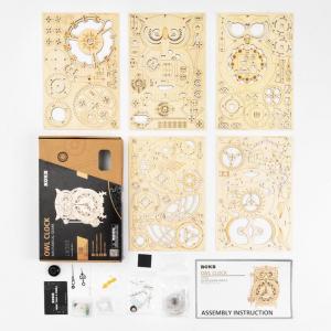 Puzzle 3D Owl Clock [4]