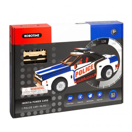 Puzzle 3D Police Car [2]