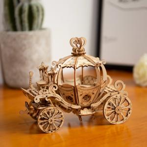 Puzzle 3D Pumpkin Cart [4]