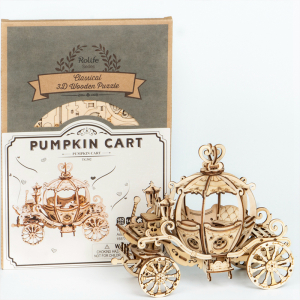 Puzzle 3D Pumpkin Cart [2]