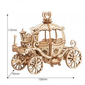 Puzzle 3D Pumpkin Cart [1]