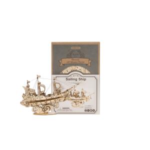Puzzle 3D Sailing ship [1]
