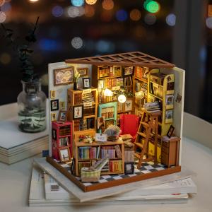 Puzzle 3D Sam's Study [3]