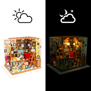 Puzzle 3D Sam's Study [1]