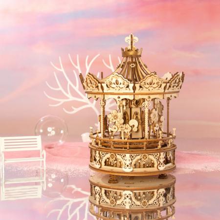 Puzzle 3D Romantic Carousel [4]