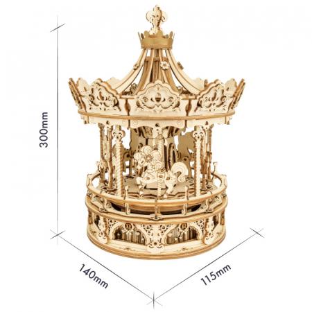 Puzzle 3D Romantic Carousel [1]