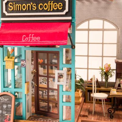 Puzzle 3D Simona's Coffee [4]