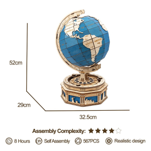 Puzzle 3D The Globe [1]
