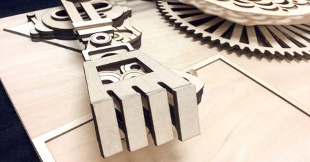 Puzzle 3D The Robot [2]