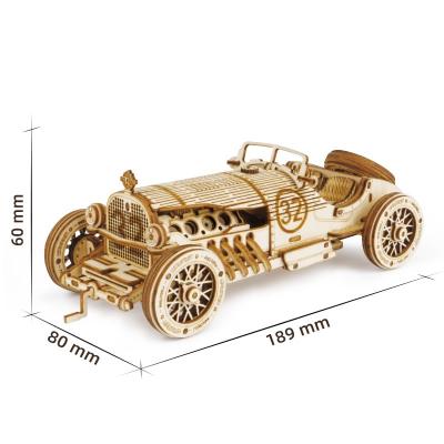 Puzzle 3D V8 Grand Prix Car [1]