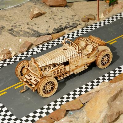 Puzzle 3D V8 Grand Prix Car [2]