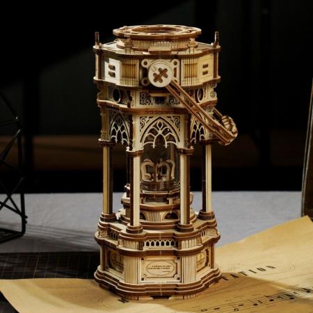 Puzzle 3D Victorian Lantern Music Box [2]