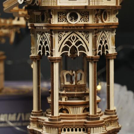 Puzzle 3D Victorian Lantern Music Box [4]