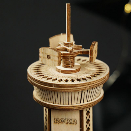 Puzzle 3D Airplane Control Tower [2]