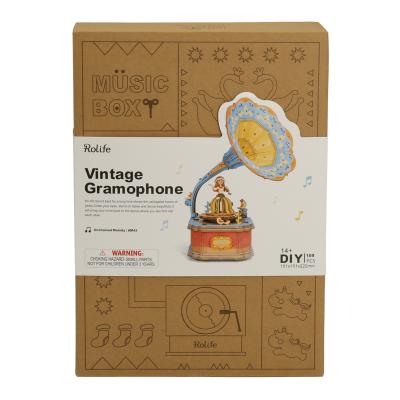 Puzzle 3D Vintage Gramphone [2]